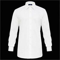 Camicia Ingram Bianca vestibilità regolare 100% Cotone No Stiro Taglia 46-XXL