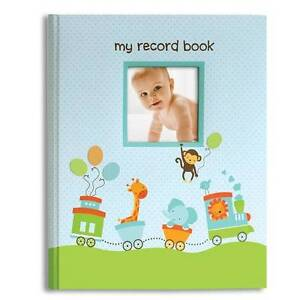 Blue Train Baby Record Book My Record Book up to 5th Birthday