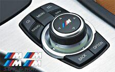 4x ///M BMW M tec Ildrive und automatik schaltknauf Aufkleber sticker Set weiß