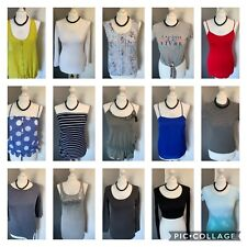 Women's Size 10 ☀️ Lovely Bundle Of 15 Summer Stretchy Tops River Island Oasis