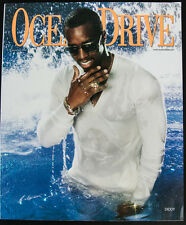 SEAN DIDDY COMBS COVER Ocean Drive Magazine November 2006 South Beach Fashion!