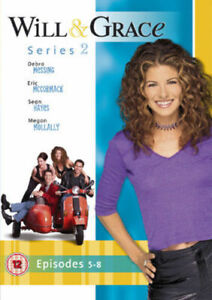 Will & Grace, Series 2 Episodes 5-8 (DVD) Debra Messing FAST + FREE P+P