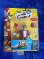 Playmates The Simpsons SUNDAY BEST GRAMPA Figure World of Springfield 2002