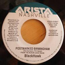 BlackHawk 45 Postmarked Birmingham / It Ain't About Love Anymore