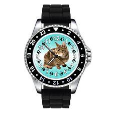Sokoke Forest Kitten Cat Paw Unisex Mens Ladies Silicone Band Wrist Watch Se303