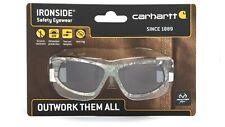 Carhartt IRONSIDE Safety Glasses Gray Anti-Fog Lens Realtree Camo CHRT620DTCC