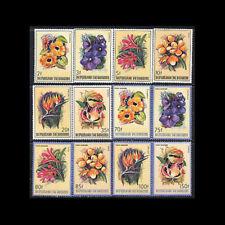 Burundi, Sc #633-38, C289-94, MNH, 1986, Flowers, Flora, CL108F