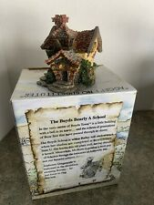 Boyds Bearly Built Villages The Boyds Bearly A School