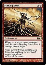 Burning Earth  CHINESE  EX/NM FOREIGN  M14 MTG  CHINESE Red Rare