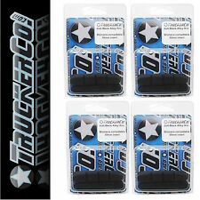 x4 pair Soft Black TruckerCo High Performance Brake Pads hive trp sram red rival
