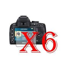 6 PZ PELLICOLA PROTEZIONE DISPLAY PER Nikon D3000 PROTEGGI SCHERMO LCD