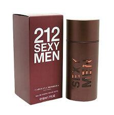212 Sexy Men by Carolina Herrera 1.7 oz. Edt Nib