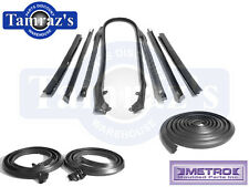 66-67 GM Buick Oldsmobile Pontiac Weatherstrip Seal Kit Convertible 10 Pieces