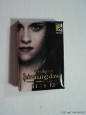 Breaking Dawn Part 2 Bella EXCLUSIVE SDCC 2012 San Diego Comic Con Button Pin