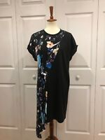 3.1 Phillip Lim Floral Silk Tee Dress, BRAND NEW WITH TAGS, Size 4