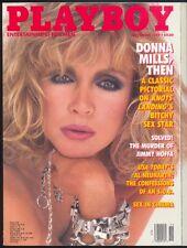Playboy november 1989 ed.USA Renee Tenison,Donna Mills