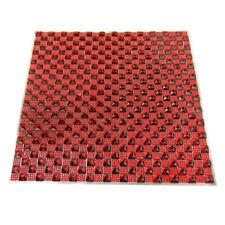 Crystal Diamond Sticker Sheet, 10-Inch, Red
