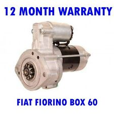 FIAT FIORINO BOX 60 1.1 1988-93 RMFD STARTER MOTOR 12 MONTH WARRANTY