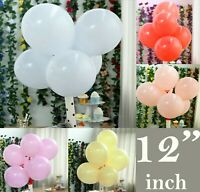 "100Pcs Large 12"" Macaron Candy Pastel Latex Balloon Wedding Party Decor Birthday"