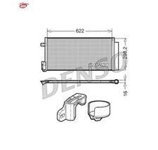 DENSO DCN13110 Condenseur, climatisation OPEL FIAT LANCIA