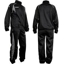 Kappa Herren Trainingsanzug Breccia Track Suit Jogginganzug Sport Anzug schwarz