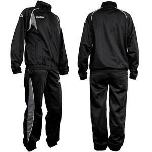 Kappa Herren TrainingsanzugTrack Suit Jogginganzug Sport Anzug schwarz (52/54) L