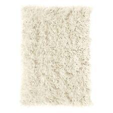 white shagflokati area rugs