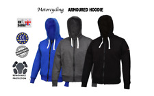 Motorbike Motorcycle protective Hoodie CE approved Armour Thermal
