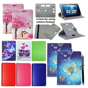 "For Huawei MediaPad T5 10.1"" Tablet 360° Universal PU Leather Flip Case Cover"