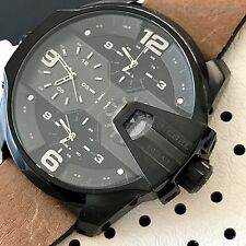 Diesel Uber Chief Men's 4 Time Zones Multi-function Chronograph Watch DZ7390 NWT