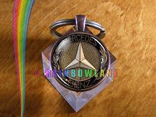 Handmade Mercedes Benz Car Keychain Key Chain Case Key Ring Car Gift #2