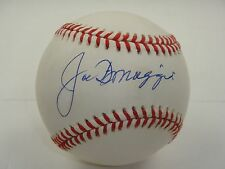 JOE DIMAGGIO PSA/DNA SIGNED OFFICIAL AMERICAN LEAGUE BASEBALL AUTOGRAPH #AB08128