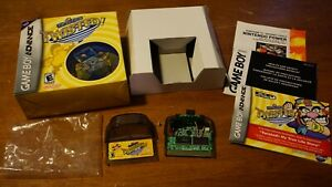 WarioWare Twisted Nintendo Game Boy Advance! Complete In Box GBA Wario Authentic