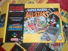 Super Nintendo SNES Super Mario All Stars Empty Console Box - NEW - BOX ONLY