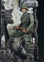 54mm Resin Figure Model Kit German Soldier Infantry (with base) WWII Unpainted