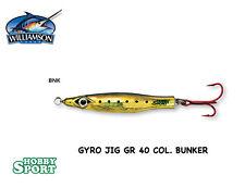 GYRO JIG ORIGINALE WILLIAMSON GR 40  COL BUNKER  ORO