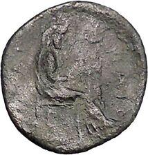 PELINNA in THESSALY 4-3CenBC Horseman Manto Authentic Ancient Greek Coin i49350