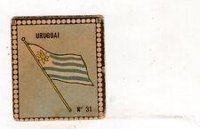 CALCIO  Figurina Stadio ed .BEA 1948-49  BANDIERA  URUGUAY  NR  31