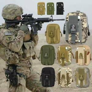 Utility Tactical Waist Pack Belt Bag Camping Outdoor Hiking Military Wallet