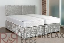 ***5ft X 6'3 Zip Link Bed with Free Headboards and Delivery*** Firm Ortho Matts