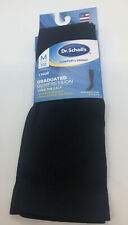 Dr. Scholl's Graduated Compression Socks 7-12Mens Over the Calf Black New