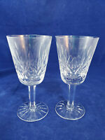 """Waterford Crystal Lismore White Wine Glass, 5 1/2"""" Tall, Signed"""