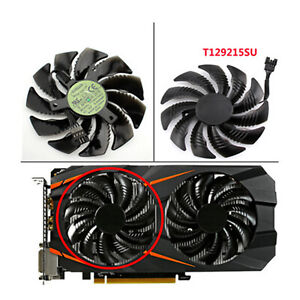 For Gigabyte GTX 1060 1070 Graphics Card 85mm T129215SU Cooling Fan Replacement