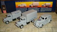 LLEDO -  US NAVY WWII 3 PIECE SET INC CHEVROLET PANEL VAN, MACK TRUCK,TANKER