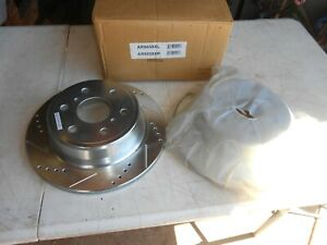 """NEW Powerstop AR8658XL Disc Brake Rotor Cross-Drilled & Slotted REAR 13.5"""""""
