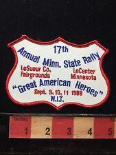 Vtg WIT Winnebago Int'l Travelers Minnesota State Rally Patch 1988 LeCenter 71B7