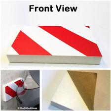 2x Car Door Bumper Guard Anti Scratch 3D Foam Sticker Garage Wall Corner Protect
