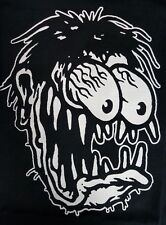 BIG DADDY ED ROTH LEGEND OF THE RAT FINK BLACK CANVAS BACK PATCH
