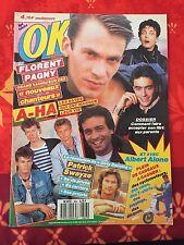 Musique - OK Magazine - N°643  - Florent Pagny, Patrick Swayze, A-Ha