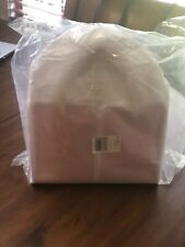NWT Kate Spade Sam Canvas Plunge Medium Satchel Handbag - Hibiscus Tea - Pink